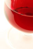 Red wine. In the glasses stock photography