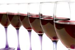 Red wine stock image
