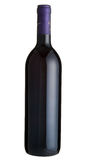 Red Wine. Bottle of red wine in isolated background Royalty Free Stock Photos