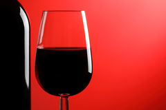 Red wine. Royalty Free Stock Images