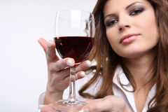 Red wine. Royalty Free Stock Photo