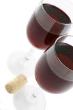 Red wine. Glass of red wine Royalty Free Stock Photography