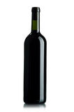 Red wine. Bottles of excellent wine on a dark background Royalty Free Stock Photo