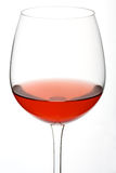 Red Wine. Glas of red wine on white background Royalty Free Stock Images