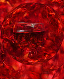 Red wine abstraction shining background Royalty Free Stock Image