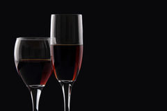 Red wine ad background Royalty Free Stock Images