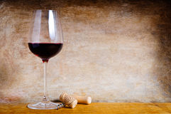 Red wine background Stock Photography