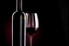 Free Red Wine Bottle Royalty Free Stock Photos - 22530058