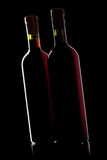 Red wine bottle Royalty Free Stock Photos