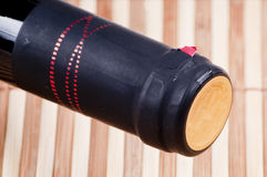 Red wine bottle cap. Close up Red wine bottle cap Stock Images