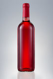 Red wine bottle isolated Royalty Free Stock Photos