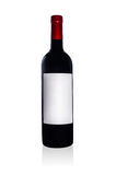 Red wine bottle Stock Photos