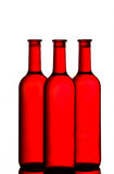 Red wine bottles Royalty Free Stock Photo