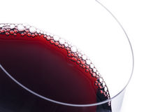 Red Wine Bubbles Royalty Free Stock Photo