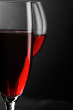 Red wine close-up Royalty Free Stock Images