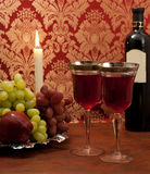 Red wine composition Royalty Free Stock Photography