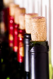 Red wine and cork Royalty Free Stock Photos