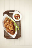 Red wine ginger chicken Royalty Free Stock Photo