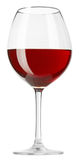Red wine in a glass Royalty Free Stock Images