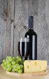 The red wine glass Royalty Free Stock Photo