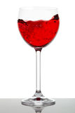 Red wine glass Royalty Free Stock Photo