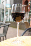 Red wine. In glass Royalty Free Stock Images