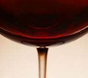 Red wine in glass Royalty Free Stock Photography