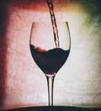 Red Wine In Glass Royalty Free Stock Image