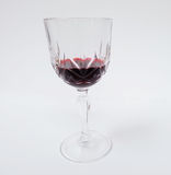 Red Wine glass compose Royalty Free Stock Image