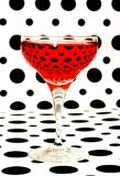 Red wine  glass Royalty Free Stock Images