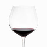 Red wine glass Royalty Free Stock Image