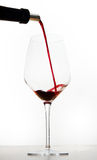 Red wine and glasses Royalty Free Stock Images