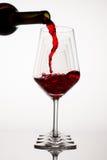 Red Wine Glasses Stock Photos