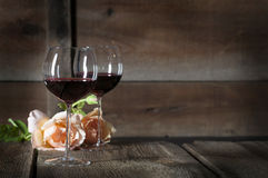 Red Wine in Glasses 2 Royalty Free Stock Image