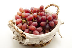 Red wine grapes Stock Photos
