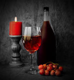 Red wine for the holidays stock photos