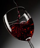 Red Wine In Glass Royalty Free Stock Photos