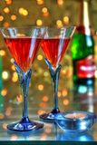 Red Wine In Glasses Stock Images