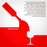 Red Wine Line Stock Images