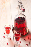 Red wine or liquor Stock Photography