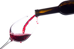Free Red Wine On White Background Stock Photos - 36139293