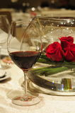 Red Wine rose Royalty Free Stock Photography