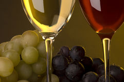 Red wine shot Royalty Free Stock Photo