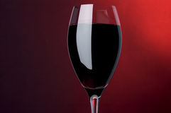 Red  wine shot Stock Photos