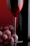 Red wine shot Royalty Free Stock Images