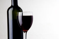 Red wine shot Royalty Free Stock Image