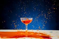 Red wine splash Royalty Free Stock Photography