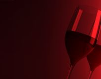 Red Wine Still Life Stock Images