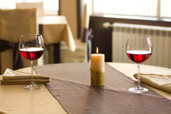 Red Wine on table royalty free stock photo