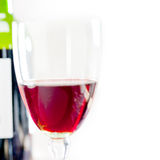 Red wine tasting Stock Photography